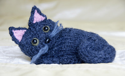 Kitty Cat Free Knitting Pattern and more free cat knitting patterns