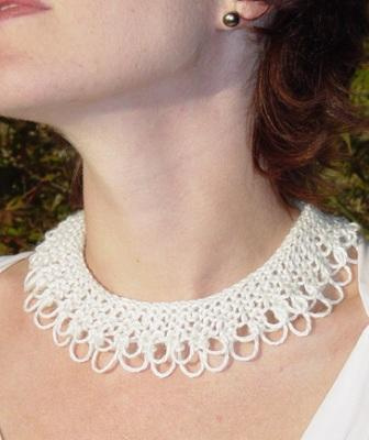 Knecklace Free Knitting Pattern