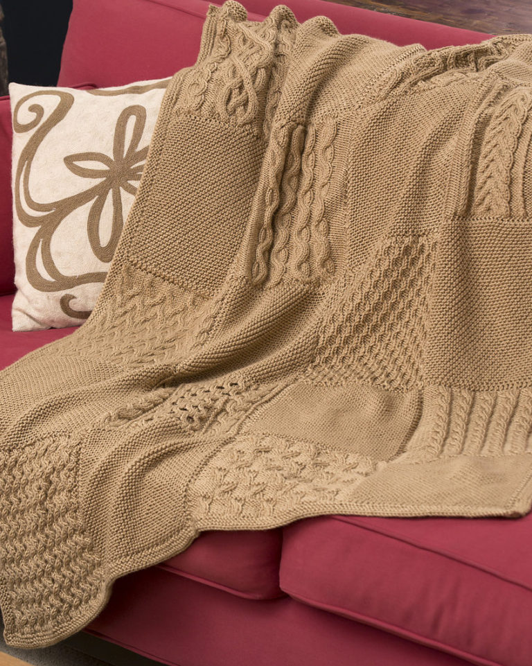 Free Knitting Pattern for Knit Your Cables Afghan