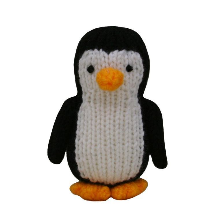 Free knitting pattern for tiny penguin toy and more bird knitting patterns