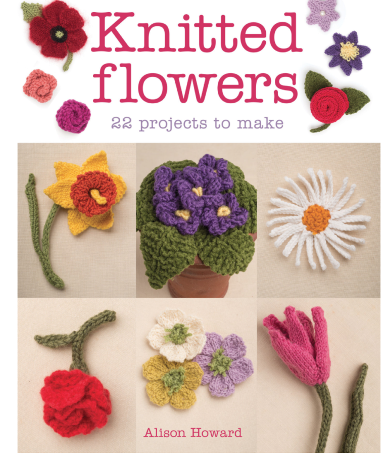 Knitted Flowers cover