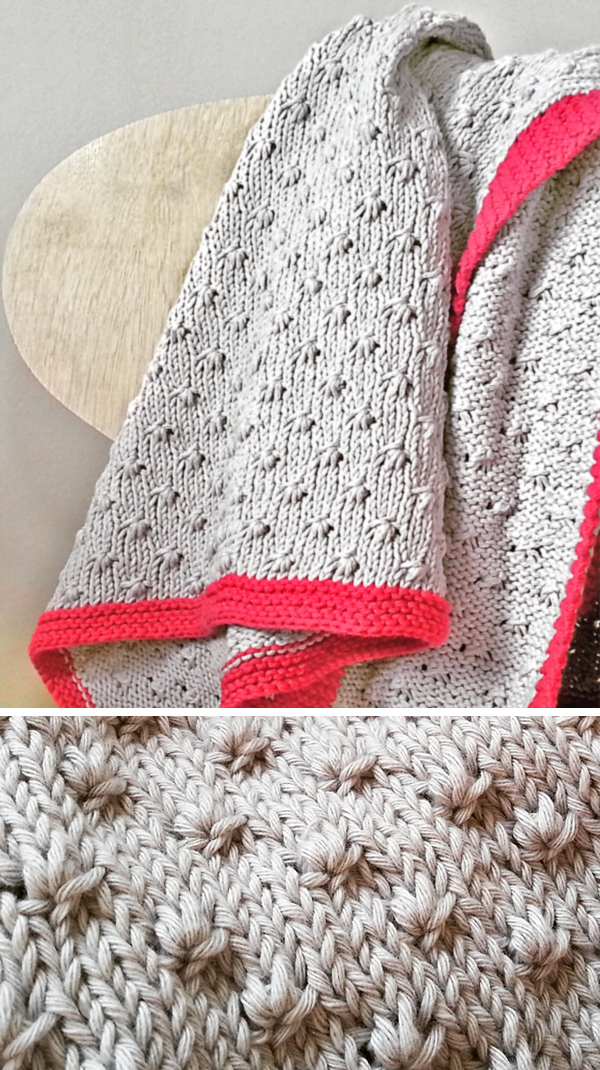 8 Row Repeat Baby Blanket Knitting Patterns- In the Loop Knitting