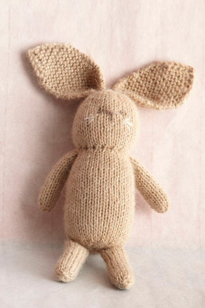Knit Little Bunny Free Knitting Pattern | Free Bunny Rabbit Knitting Patterns at http://intheloopknitting.com/free-bunny-knitting-patterns