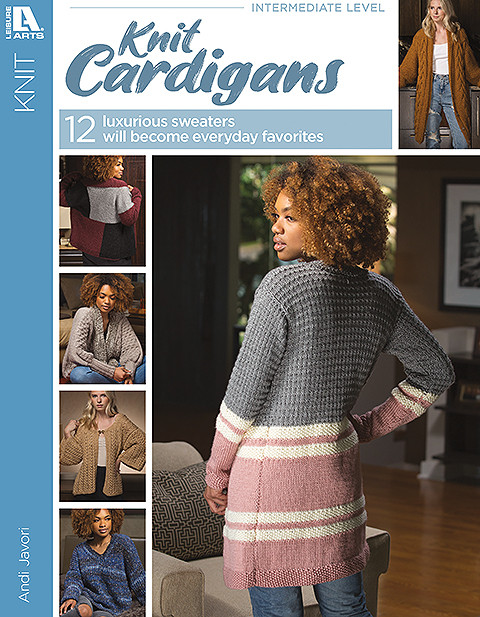 Leisure Arts #6999, Knit Cardigans