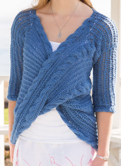 Knitting Pattern for La Cruz Top