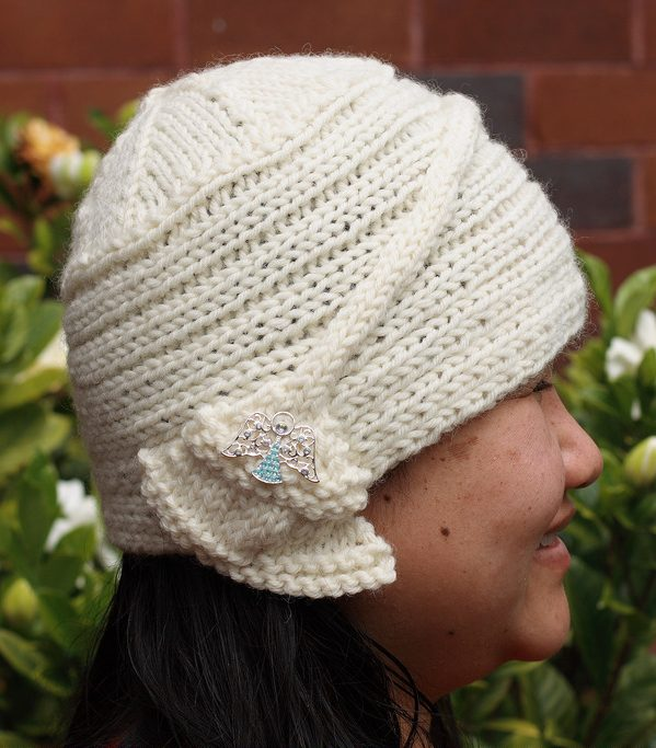 Free knitting pattern for Lady Jodie Hat