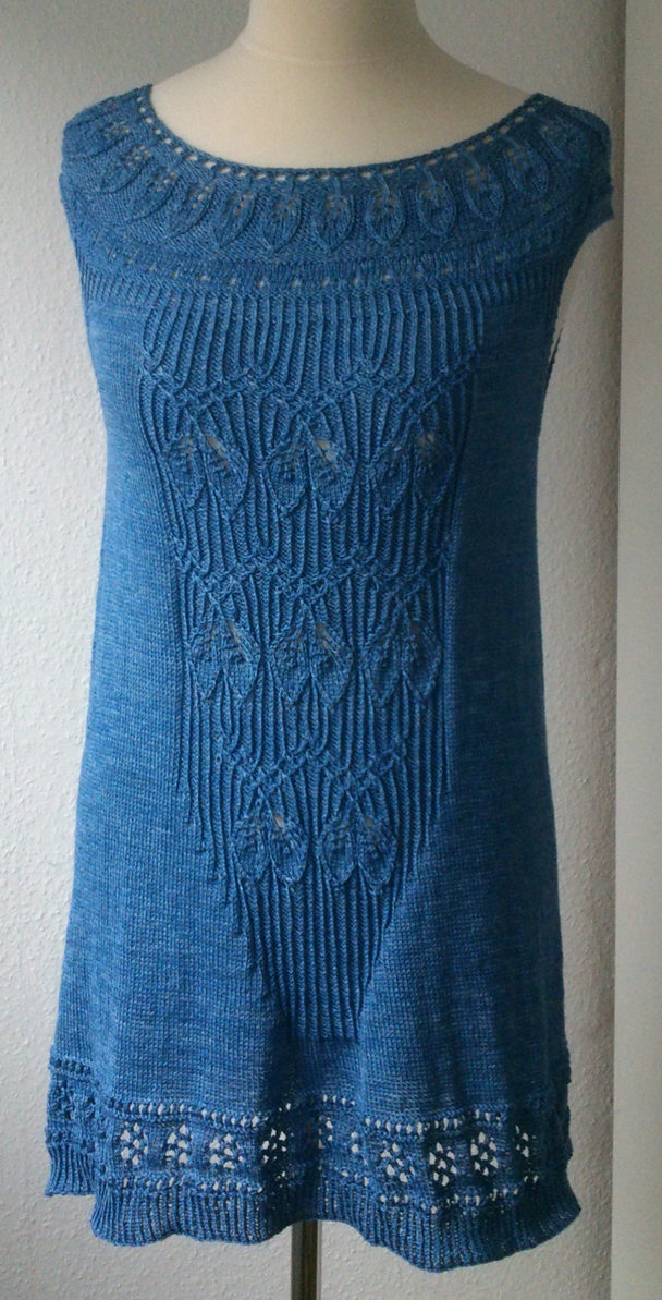 Free Knitting Pattern for Lavinia Tunic or Dress