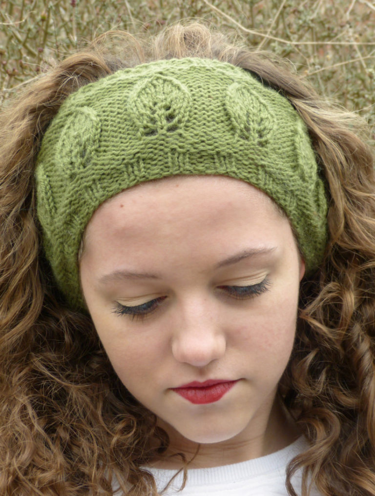 Leaf Lace Knitting Patterns In The Loop Knitting