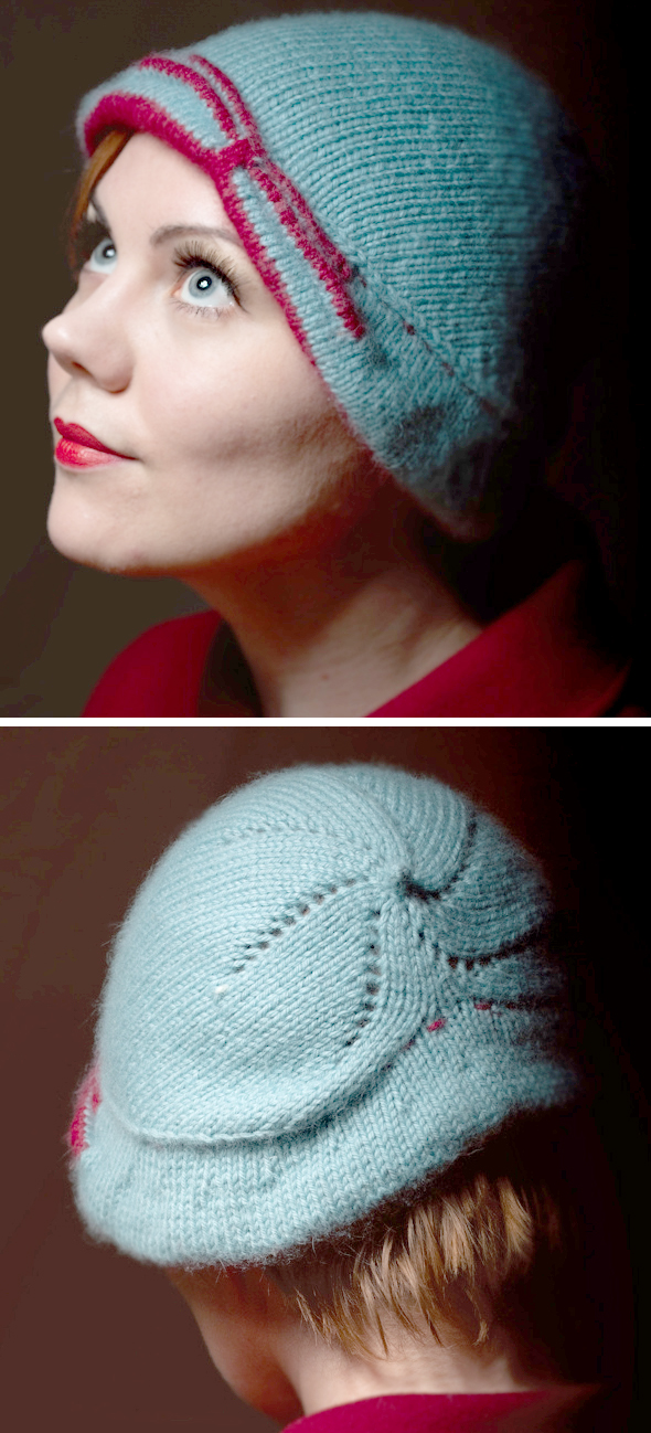 Free Knitting Pattern for Lee Cloche