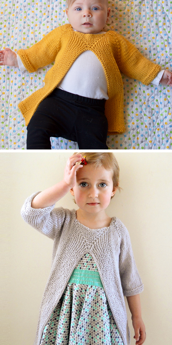 Knitting Pattern for Easy Baby and Child Leksak Tunic