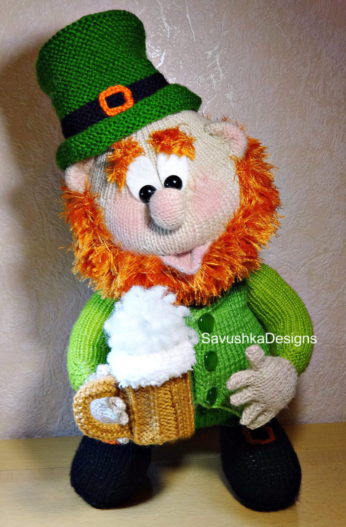 Knitting Pattern for Leprechaun