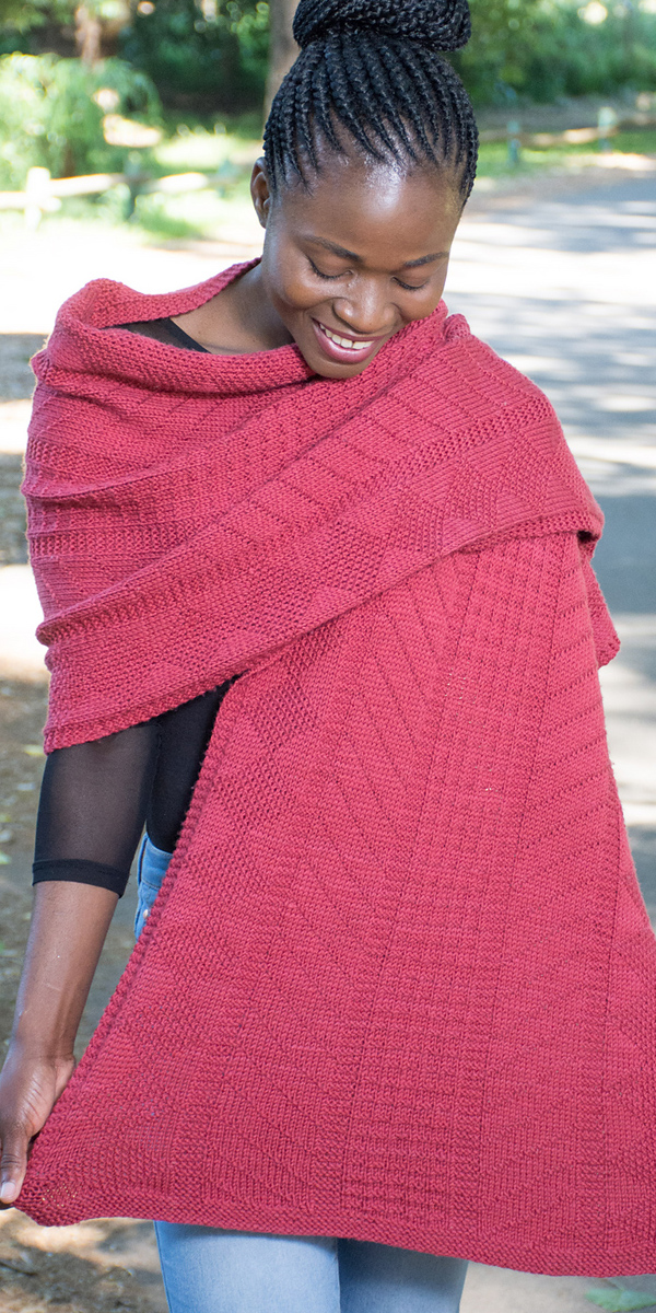 Knitting Pattern for Lerato Wrap
