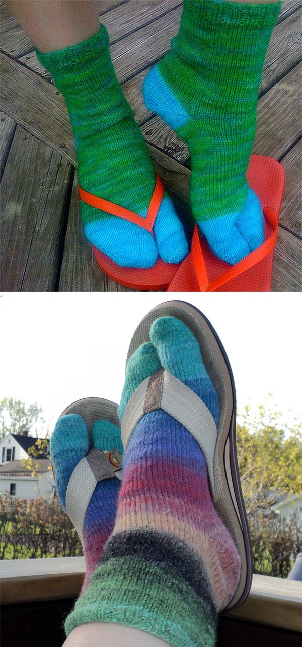 61b86aa2414e19 Sandal Knitting Patterns - In the Loop Knitting