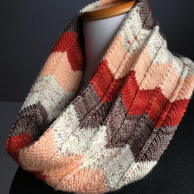 Free Knitting Pattern for Lila Cowl