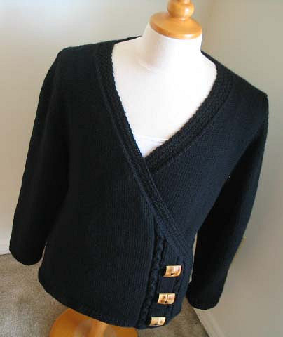 Free Knitting Pattern Lillie Wrap Cardigan