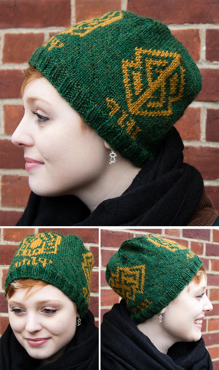 Free Knitting Pattern for Hobbit Inspired Hat