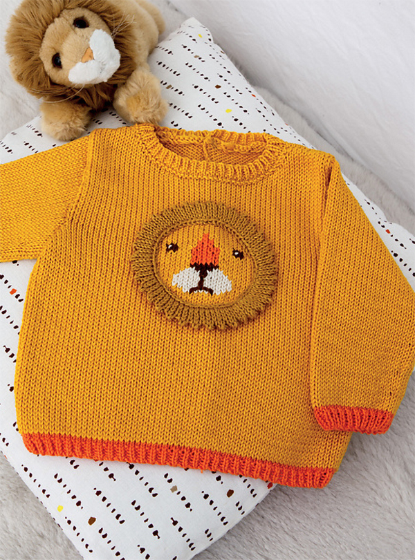 1269e9853 Animal Baby Sweater Knitting Patterns- In the Loop Knitting