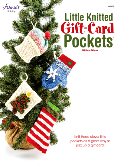 Knitting Pattern for Little Knitted Gift Card Pockets