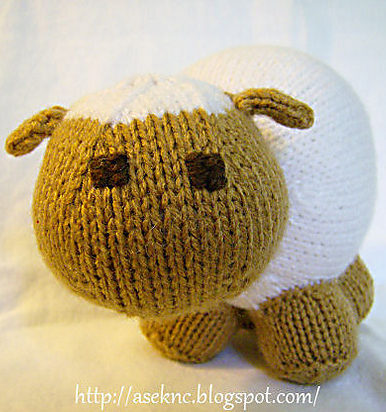 Sheep And Lamb Knitting Patterns In The Loop Knitting