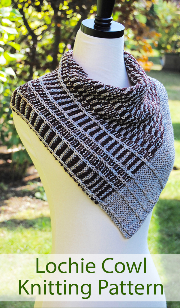 Knitting Pattern for Lochie Cowl