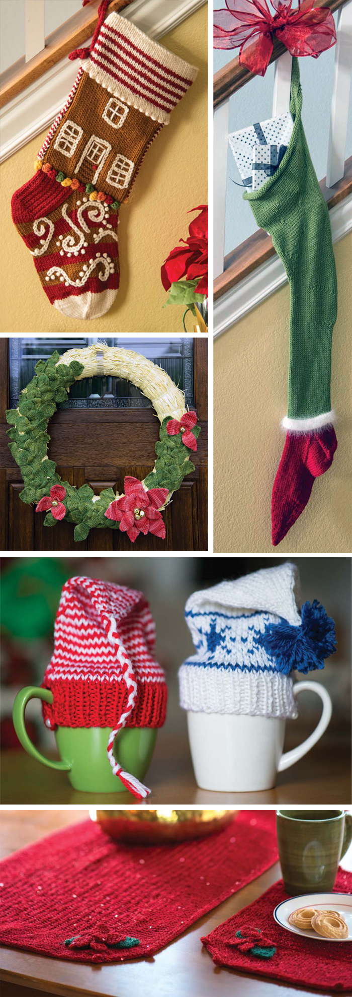 Christmas Knitting Patterns from Love of Knitting Holiday Knits