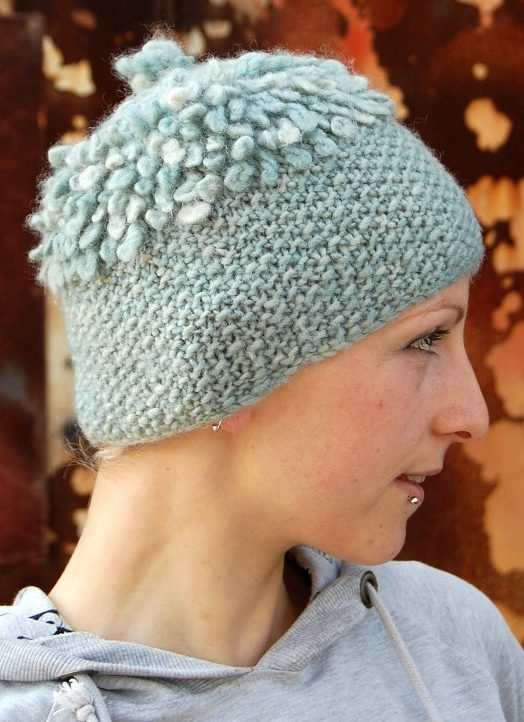 Knitting Pattern for Loopy Hat