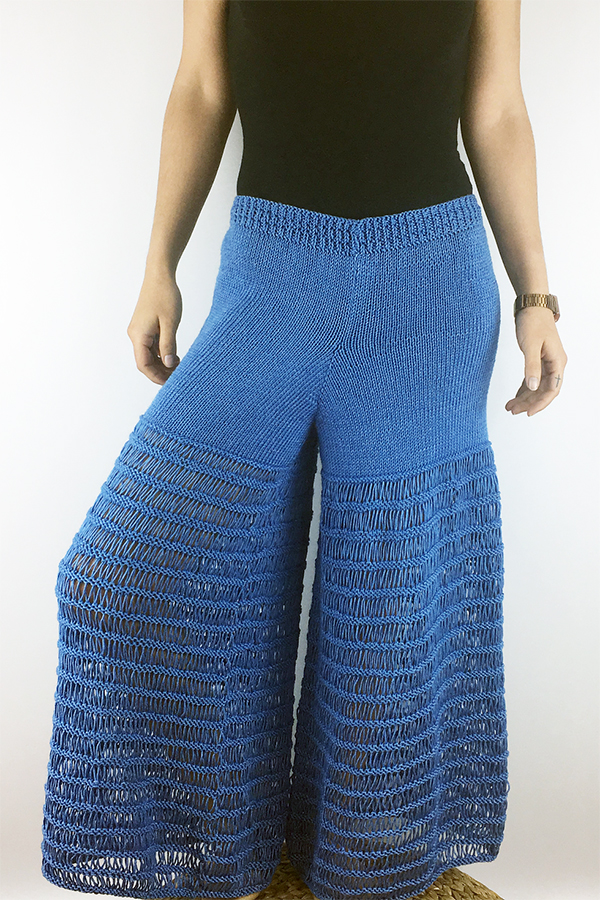 Free Knitting Pattern for Carvalho Pants