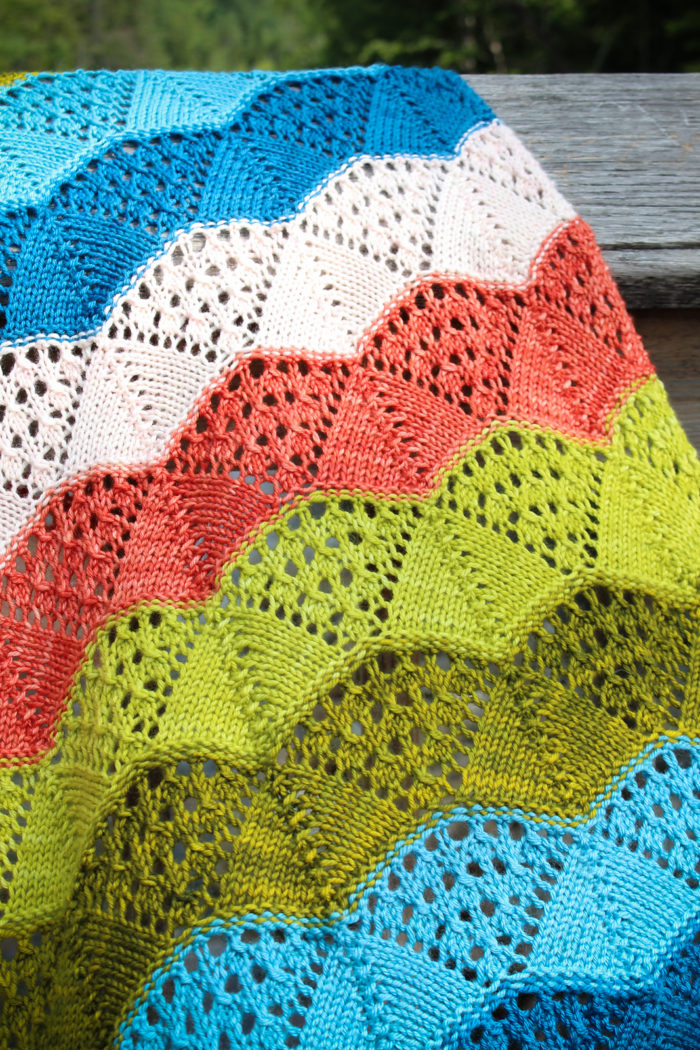 Knitting Pattern for Lovequist Baby Blanket
