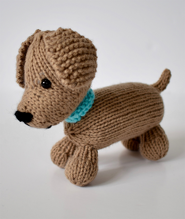Free Knitting Pattern for Loyal Puppy