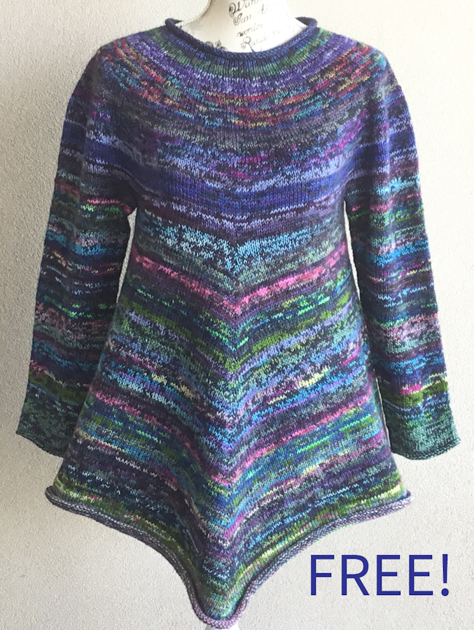 Free Knitting Pattern for Baw Baw Sweater
