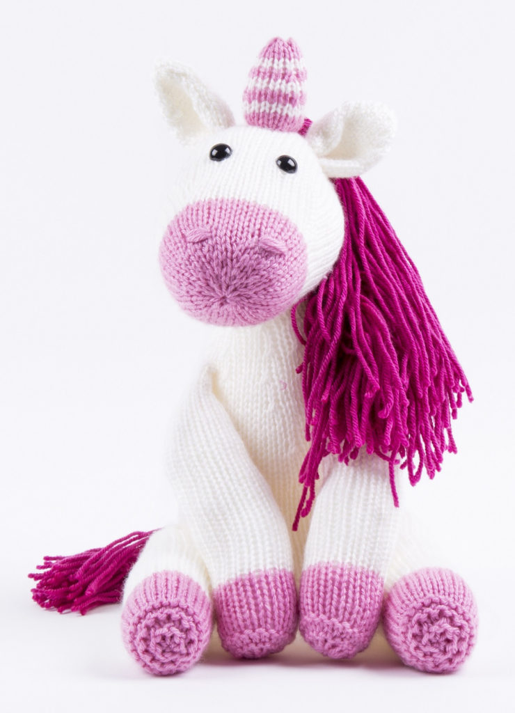 Knitting Kit for Luna the Unicorn Toy