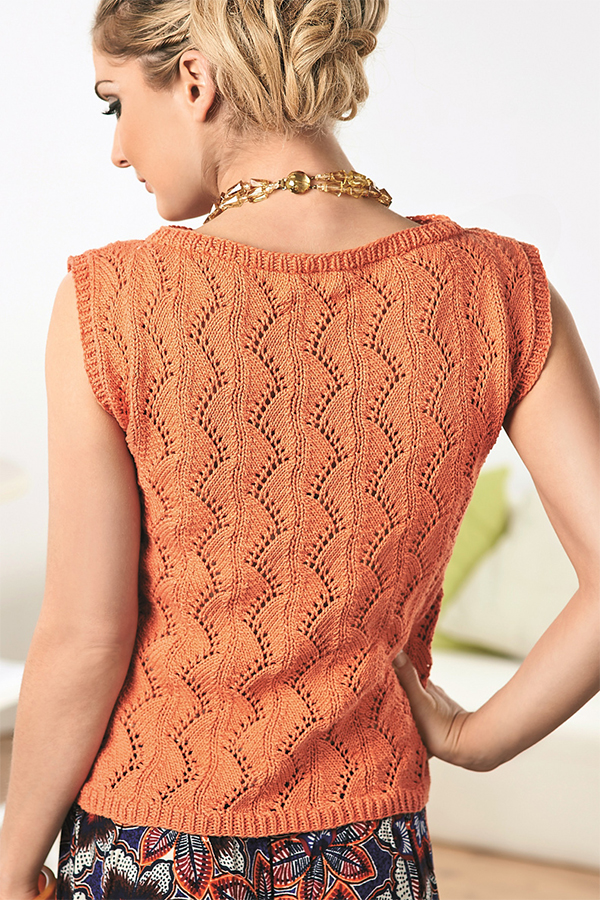 Free until July 31, 2018 Knitting Pattern for Lyndsey Top