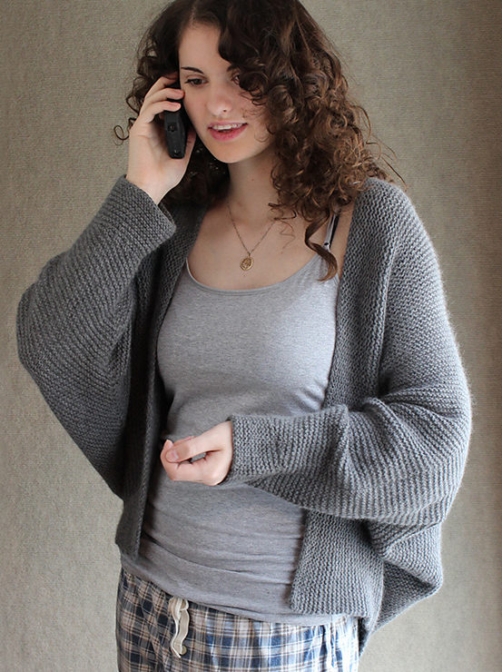 Knitting Pattern for Madam Secretary Cardigan