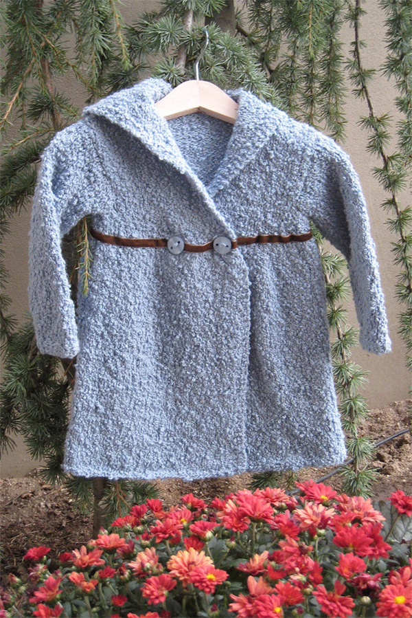 Free Knitting Pattern for Maisie Coat