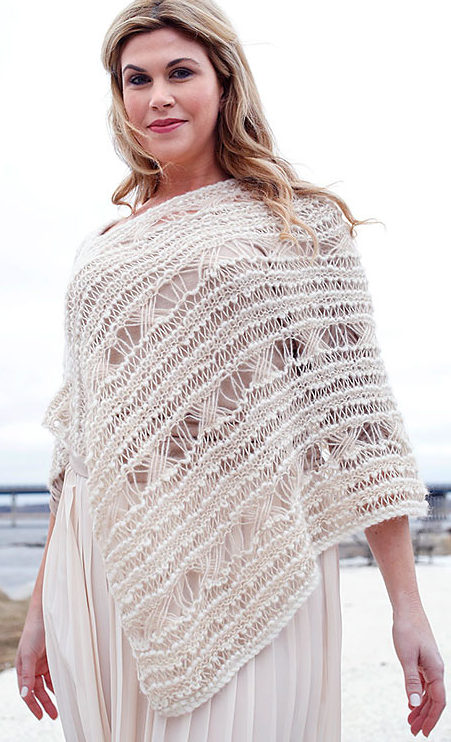 Free Knitting Pattern for Malemute Poncho