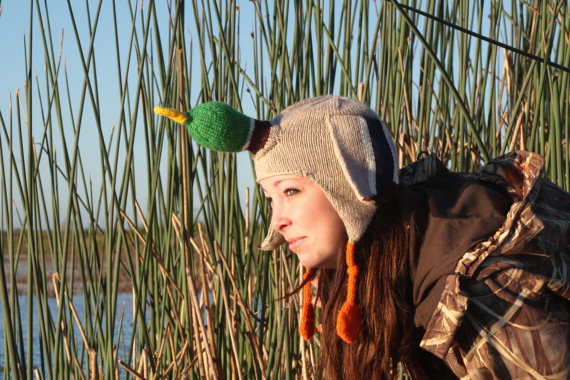Duck Hat Knitting Pattern