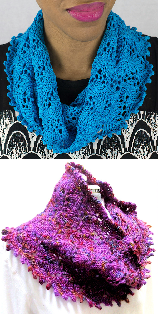 Free Knitting Pattern for Manorhaven Cowl