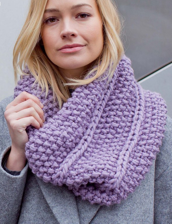 Knitting Pattern for Margareta Moss Cowl