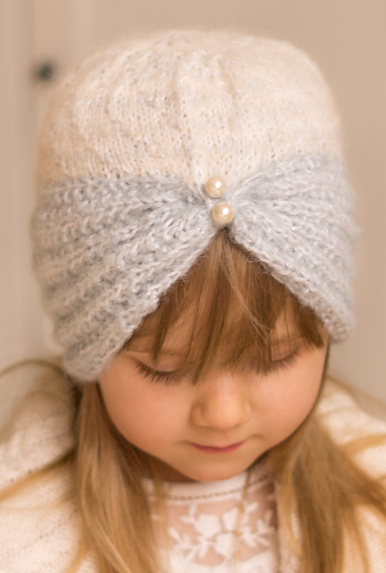 Free Knitting Pattern for Margot Turban