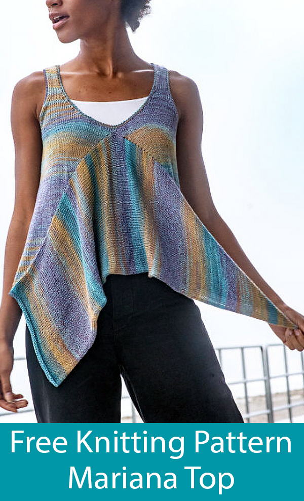 Free Knitting Pattern for Mariana Top