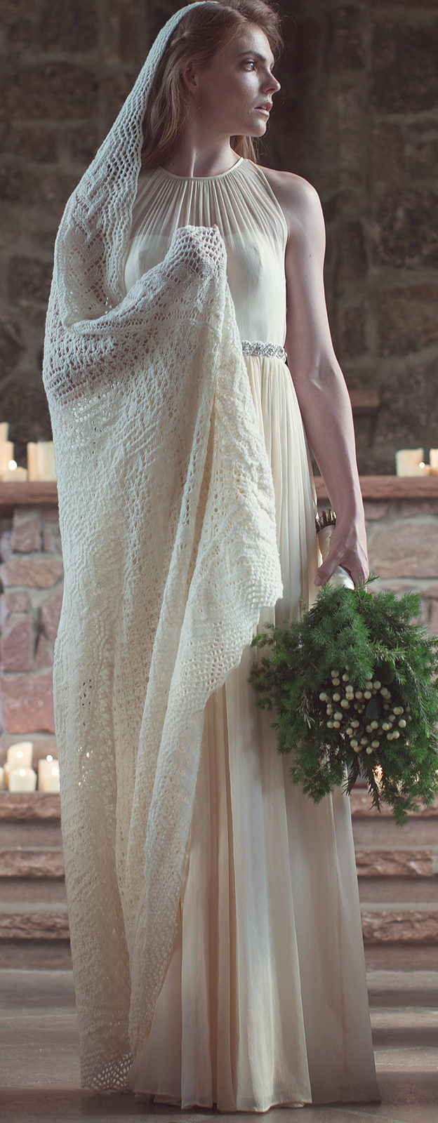 Knitting Pattern for Maria's Veil