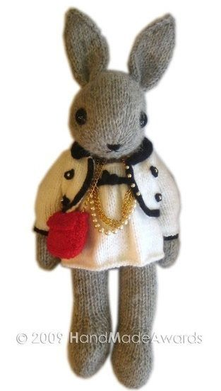 Knitting Pattern for Marni the Bunny Toy