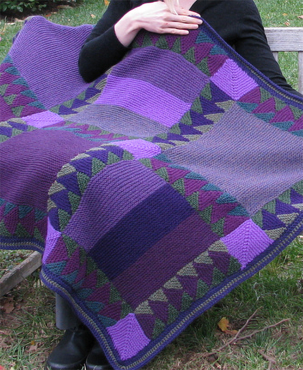 7fbdeba639c23 Quilt Baby Blanket and Afghan Knitting Patterns - In the Loop Knitting