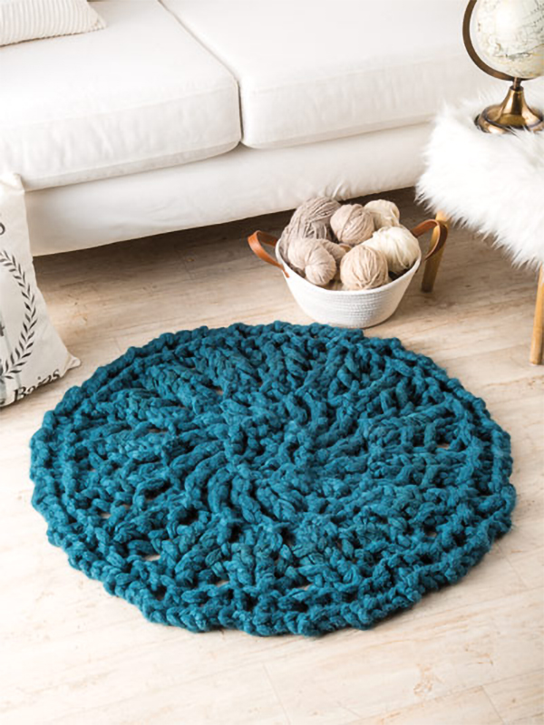 Rug Knitting Patterns - In the Loop Knitting