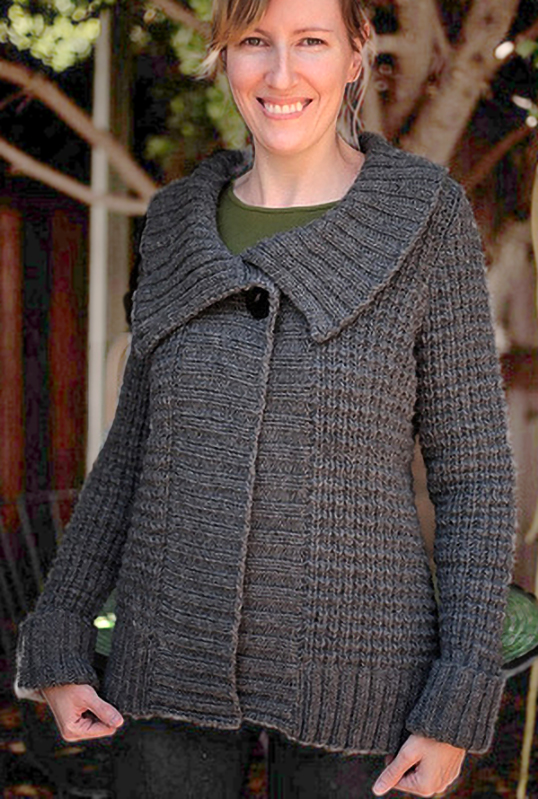 Free Knitting Pattern for Mayer Cardigan