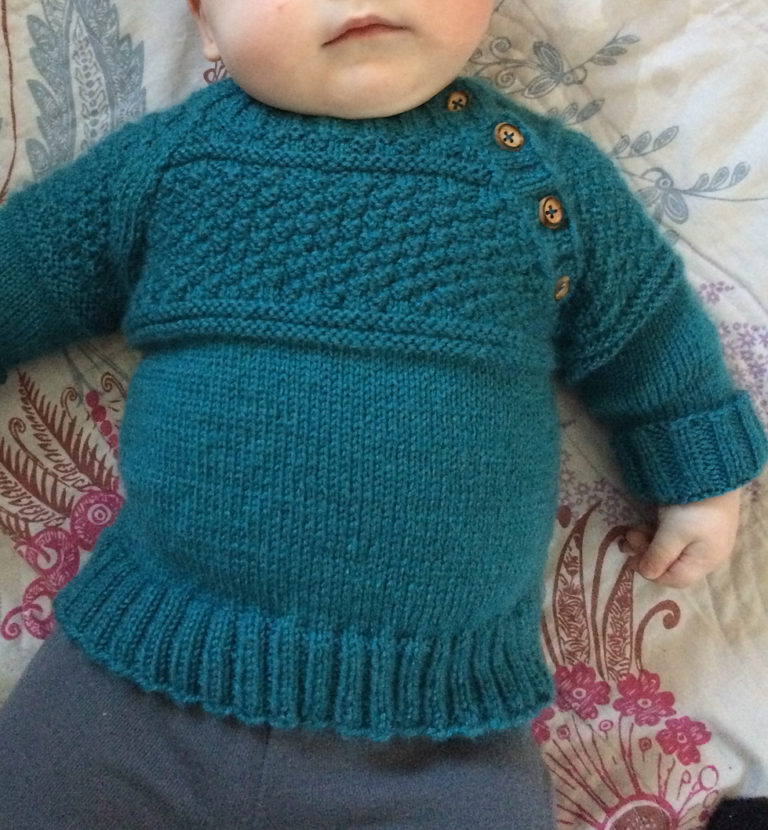 Free Knitting Pattern for McDreamy Jumper