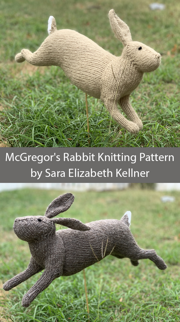 Knitting Pattern for McGregor's Rabbit