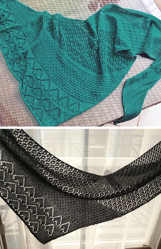 Free until November 30, 2018 Knitting Pattern for Memories of Angels Shawl