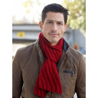 Free knitting pattern for Men's Interchangeable Scarves and more knitting patterns for men