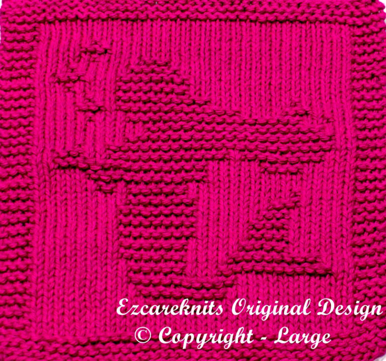 Knitting Pattern for Mermaid Cloth